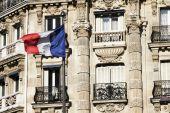 French Flag - Paris Building