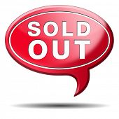 sold out of stock no longer available icon or sign limited edition and final clearance banner