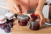 Woman Tasting Marmalade