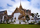Dusit Maha Prasat Hall in Thai Royal Grand Palace