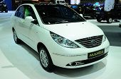 Bkk - Nov 28: Tata Manza On Display At Thailand International Motor Expo 2013 On Nov 28, 2013 In Ban