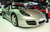 Bkk - Nov 28: Porsche Boxster On Display At Thailand International Motor Expo 2013 On Nov 28, 2013 I