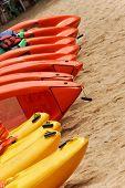Kayaks for reent in Ilhabela - Brazil