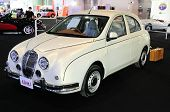 Bkk - Nov 28: Mitsuoka View-t, Vintage Design Car, On Display At Thailand International Motor Expo 2