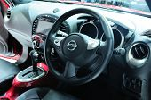 Bkk - Nov 28: Interior Of The New Nissan Juke, Cross Over Car, On Display At Thailand International