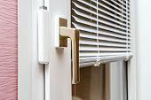 Aluminium Blinds On Pvc Window