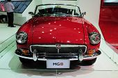 Bkk - Nov 28: Mg B, Classic Designed Car, On Display At Thailand International Motor Expo 2013 On No