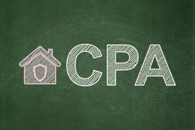 stock photo of cpa  - Business concept - JPG