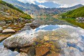 The High Tatras. Five Polish Ponds Valley. Carpathians.