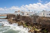 stock photo of asilah  - View asilah a beautiful town in northern Morocco near Tangier - JPG