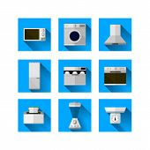 Icons for home equipment
