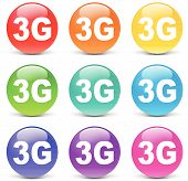 Vector 3G Icons