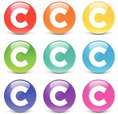 Vector Copyright Icons