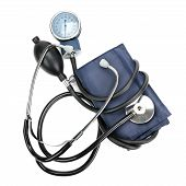 Stethoscope And Hemopiezometer