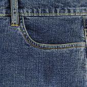 Blue Jeans Pocket