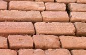 Brick Wall With Cuneiform Writing On Bricks, Shush, Iran
