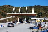 Toll Plaza, Spain.