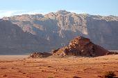 Wadi Rum Landscape, Jordan.