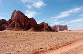 Wadi Rum Scenic Landscape, Jordan