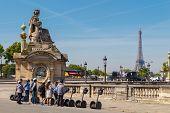 Paris, Place De La Concorde.