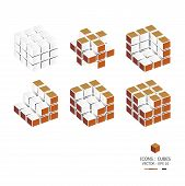 Icons Cubes Set