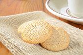 Lemon Snap Cookies