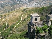Abandoned castle in Erice
