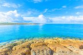 Blue sky and blue ocean in Okinawa