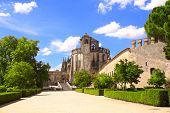 Templar Convent of Christ in Tomar, Portugal
