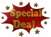 Special Deal (red explosion)