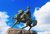foto of bohdan  - Hetman Bogdan Khmelnitsky statue in Kiev - JPG