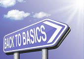 stock photo of primitive  - Back to basics to the beginning keep it simple and basic primitive simplicity