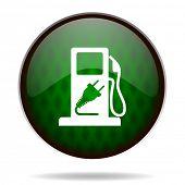 fuel green internet icon