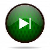 next green internet icon