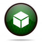 box green internet icon