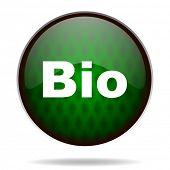 bio green internet icon