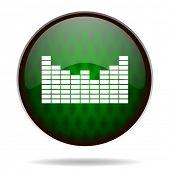 sound green internet icon