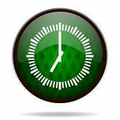 time green internet icon