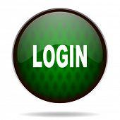 login green internet icon