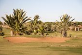 Golf Course In Marrakesh, Morocco