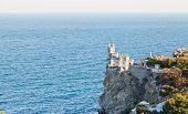 Swallow Nest Castle On South Coast Of Crimea