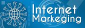 Internet Marketing Blue Element