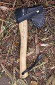 Survival tool, axe