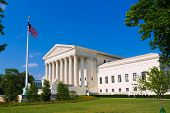 foto of supreme court  - Supreme Court of United states building in Washington DC - JPG
