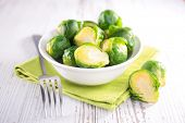 picture of brussels sprouts  - brussel sprouts - JPG