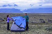 pic of tent  - Tent  - JPG