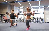 stock photo of shoulder muscle  - sport - JPG