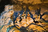 stock photo of hindu-god  - Statue of hindu god at Batu caves - JPG
