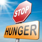 pic of starving  - stop hunger and feed the world of suffering malnutrition starvation and famine caused by food scarcity - JPG