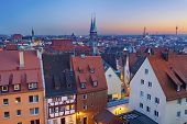 image of neo-classic  - Image of historic downtown of Nuremberg - JPG